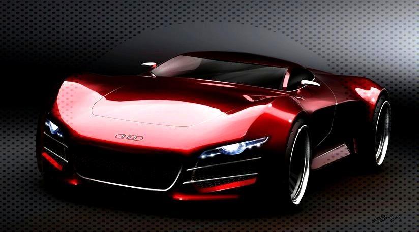 Futuristic Concept of Audi R10