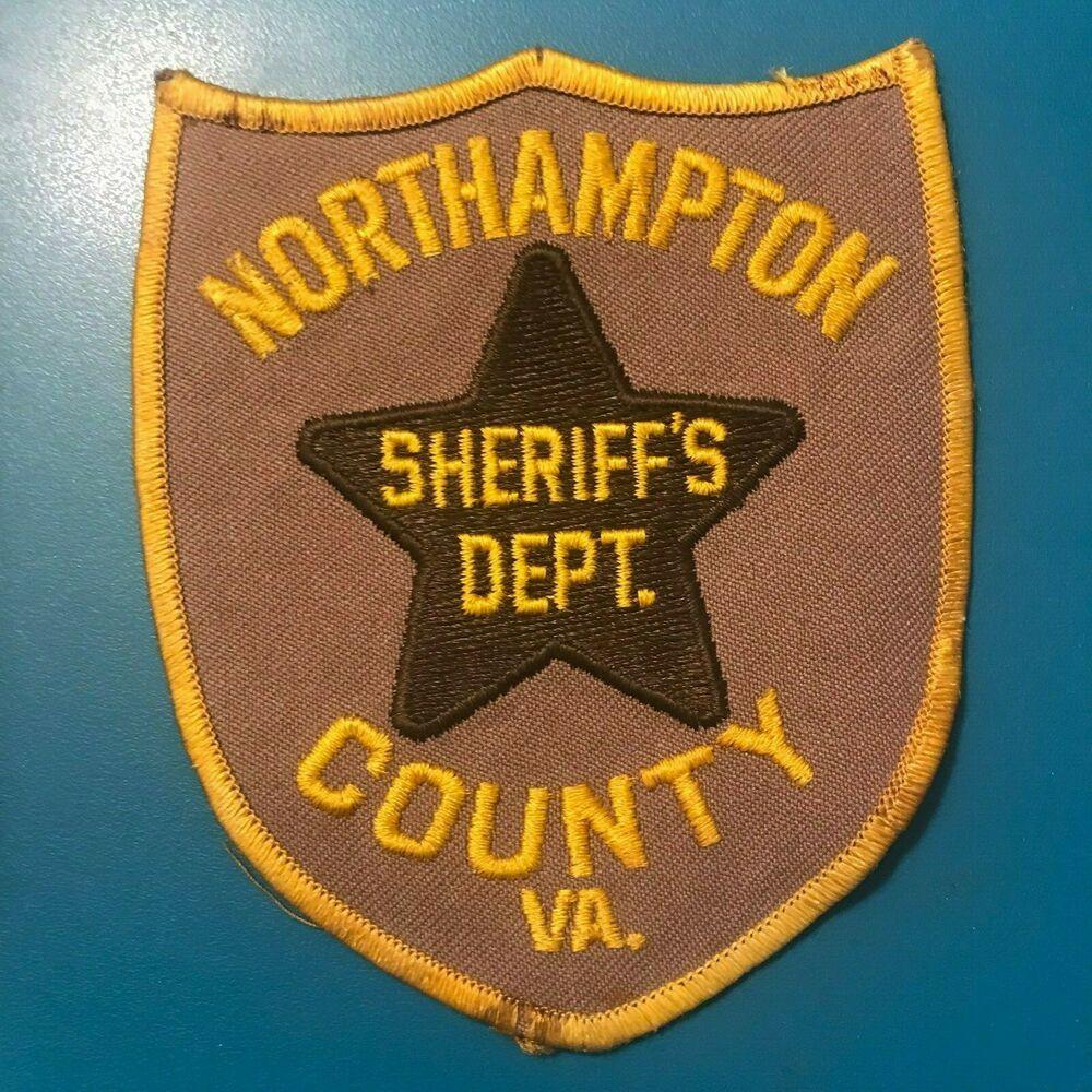 Northampton County Sheriff Virginia VA Patch   Police