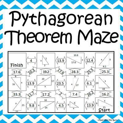 math worksheet : 1000 images about math pythagorean theorem on pinterest  : Math Pythagorean Theorem Worksheets