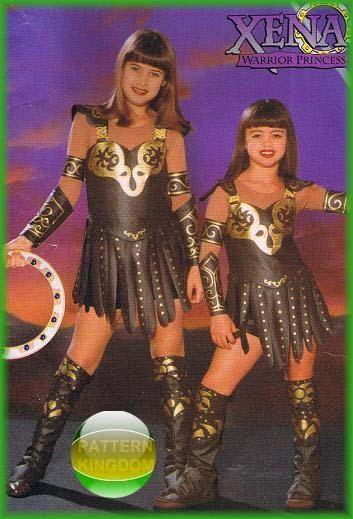 Xena Warrior Princess Costume Butterick 5726 Girls X...