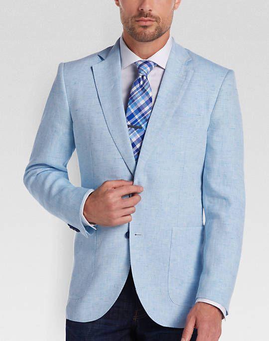 Tailorbyrd Light Blue Slim Fit Sport Coat | Men's Fashion ...