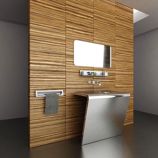 Sleek and Stylish Bathrooms Bathroom Pinterest Interiors