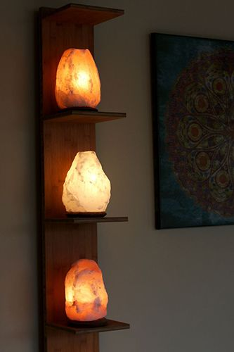 "Where To Buy Salt Lamps Extraordinary Salt Lamps  Note Think They're Pretty Don't Buy The ""health Decorating Inspiration"