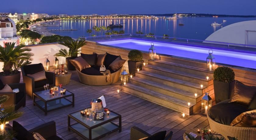 Hotel Barriere Le Magestic, Cannes.