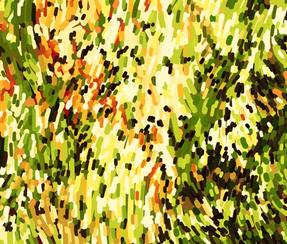 CANVAS PRINT Horizontal Art Extra Big Huge by NatalyBorichArt ...