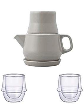 KINTO Gray Tea For One and Two KRONOS Double Wall Glass Espresso Cup, Set of 3. ** Be sure to check out this awesome product. We are a participant in the Amazon Services LLC Associates Program, an affiliate advertising program designed to provide a means for us to earn fees by linking to Amazon.com and affiliated sites.