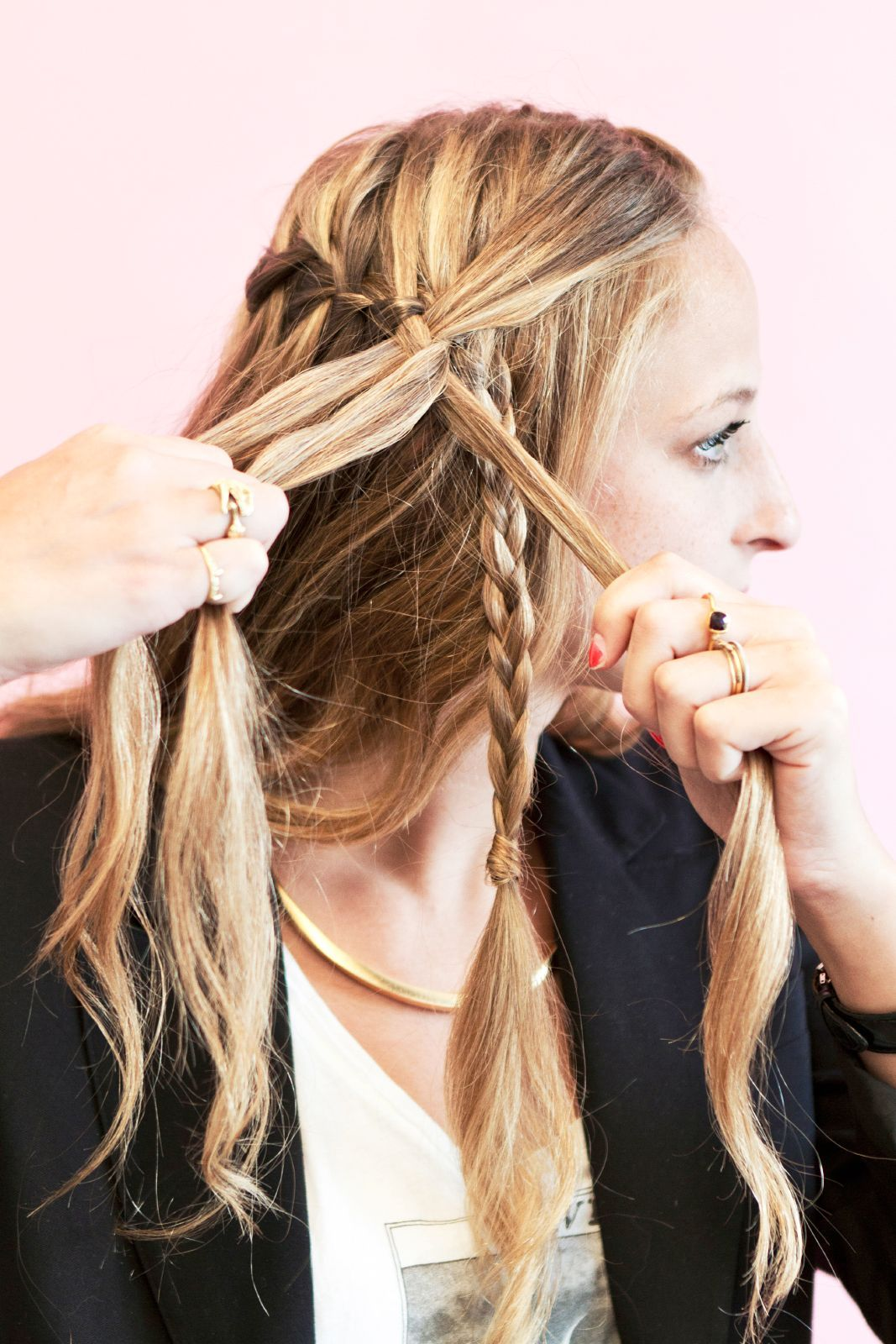 Genius New Ways To Braid Your Hair Hair Styles Hair Braided Hairstyles