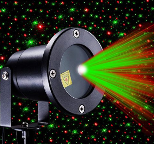 Red And Green Moving Firefly Laser Light Projector Laser Christmas Lights Solar Lights Garden Laser Lights Projector