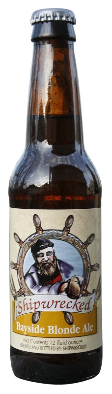 Shipwrecked Bayside Blonde - Golden Ale/Blond Ale