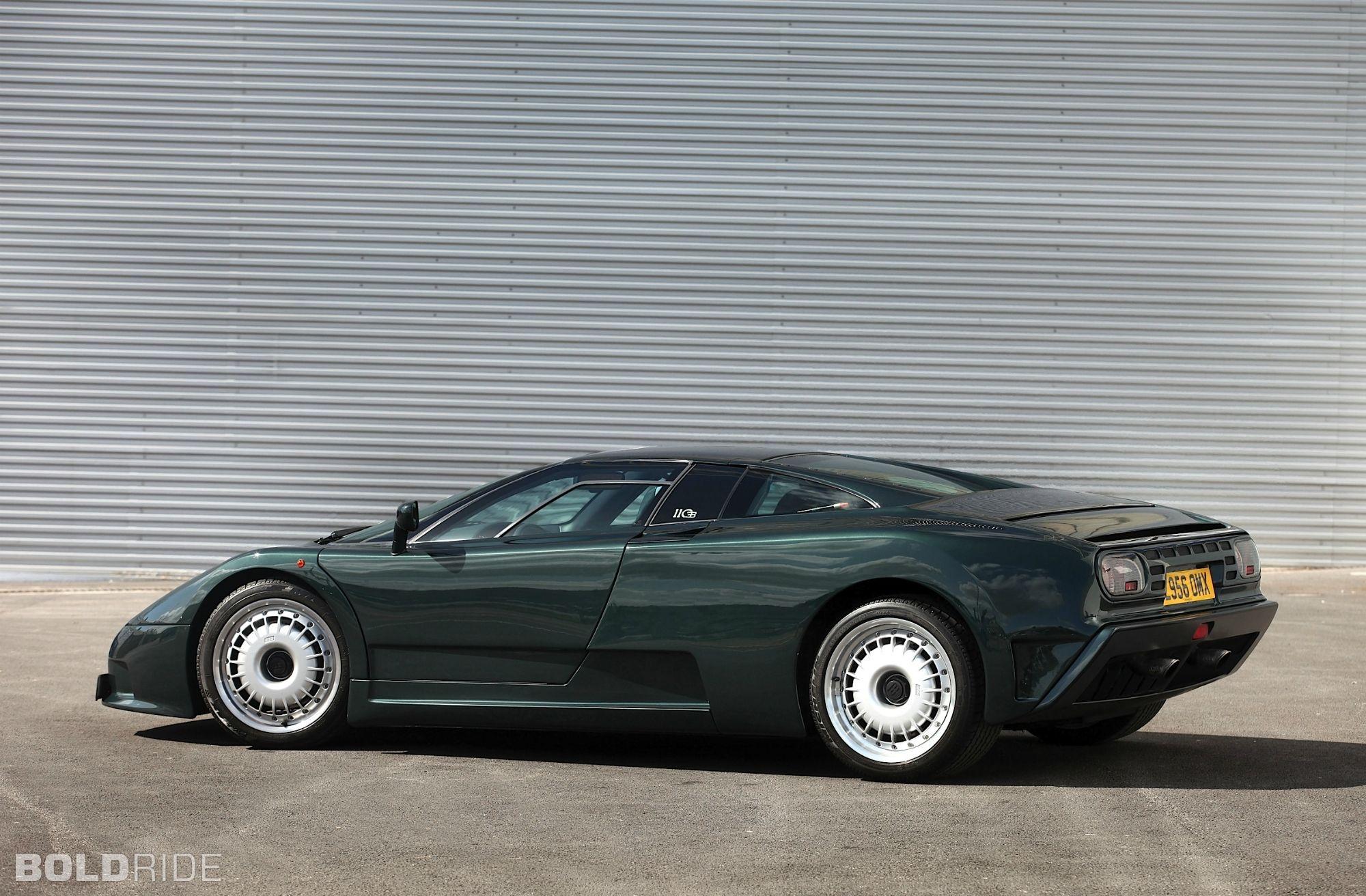 1991 Bugatti Eb110 Gt Dark Green Bugatti Eb110 Super Cars Bugatti