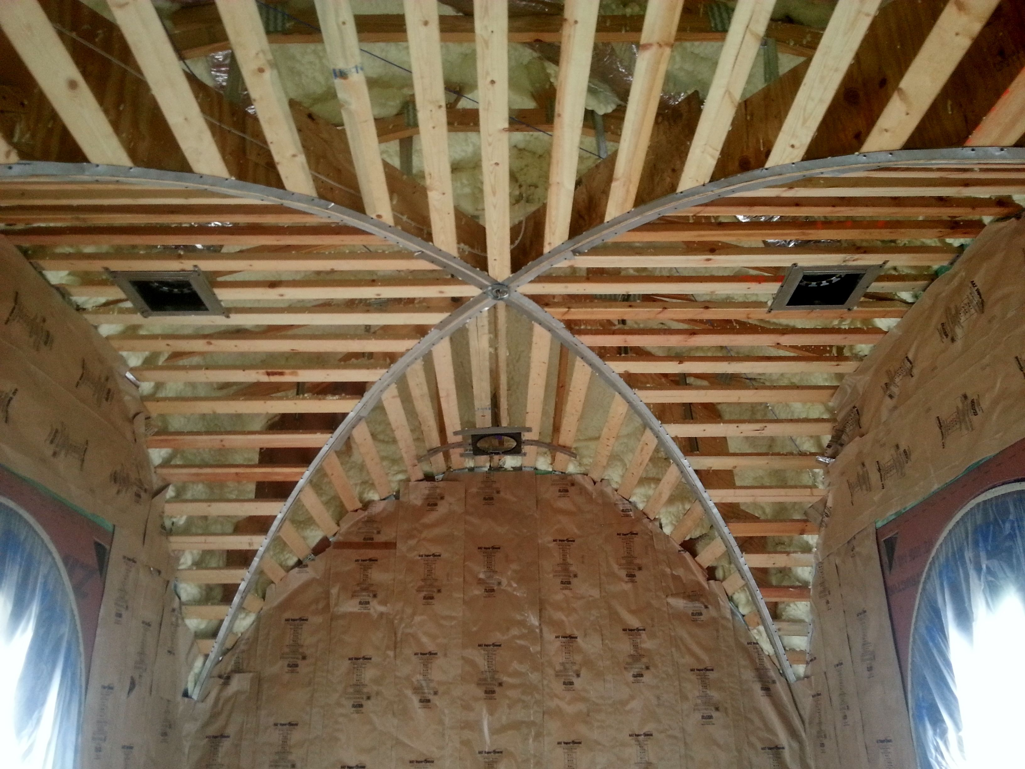 Groin Vault Ceiling Vaulted Ceiling Ceiling Design Vaulting