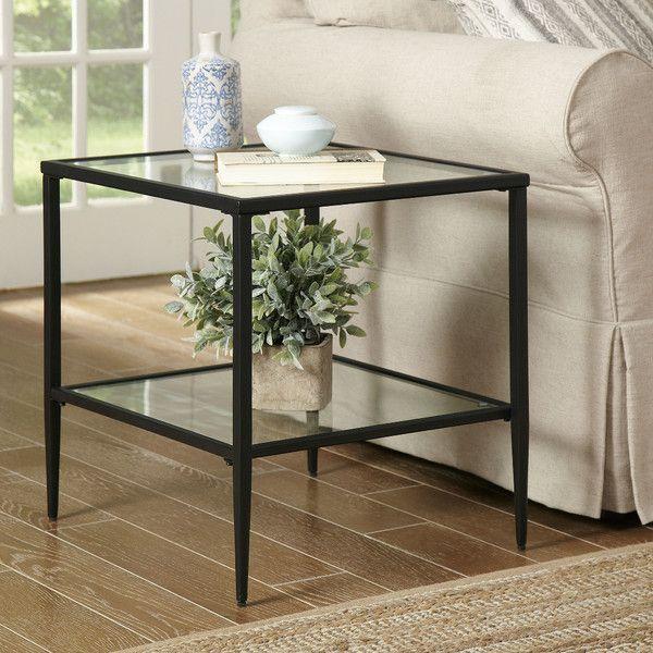formal living room end tables best color for floor tiles harlan double shelf side table pinterest heidi