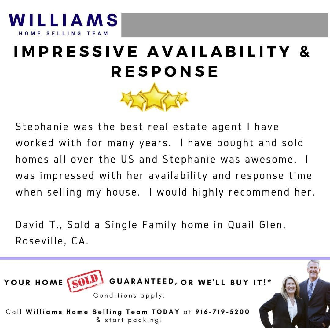 Another Heart Warming Testimonial From My Client David