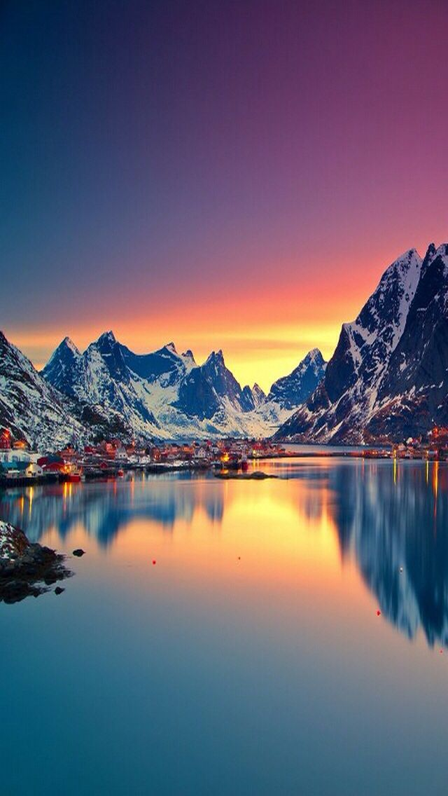 Snowy Mountains Mountains At Night Sunset Images Sunset Landscape