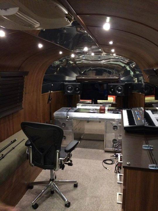 The mobile studio (c) Richard Rich Mobile recording