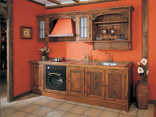 Muebles de cocina rusticos buscar con google pinteres for Muebles de cocina rusticos