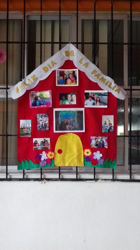 Mural del dia de la familia Família Pinterest Dia de la