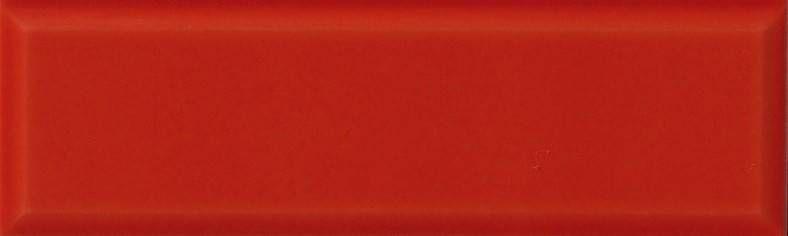 Dado Odissea Rosso 10x333 Cm 301105 Gres Tinta Unita 10x335