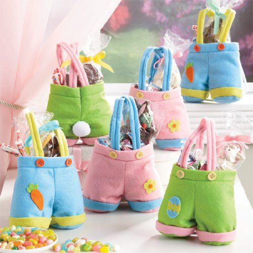 Easter crafts decor diy or buy easter bunny easter and bunny easter bunny pants treat bags diy or buy negle Gallery