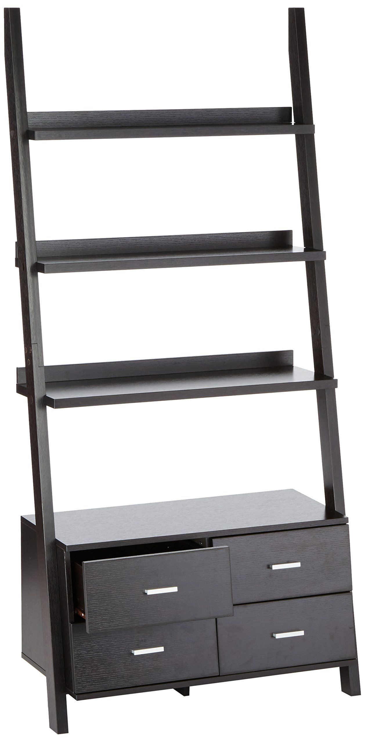 Coaster 800319 Home Furnishings Ladder Bookcase Cappuccino >>> Click Image