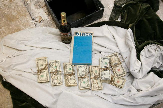 They found $50,000...and some booze!