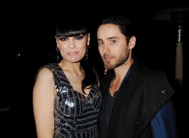 #TBT: @JessieJ & @JaredLeto attend the Universal Music Group 54th Grammy Awards on Feb 12, 2012 in Los Angeles