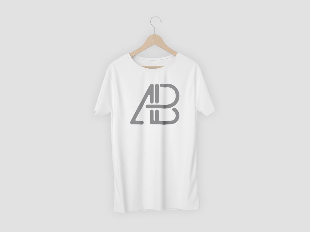 5591+ V-Neck T-Shirt Mockup Free DXF Include