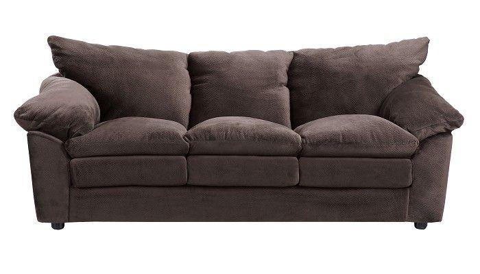 Slumberland Furniture Holden Collection Chocolate Sofa