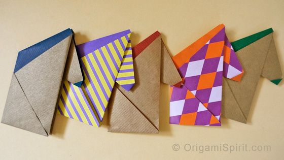 Easy Origami Horses