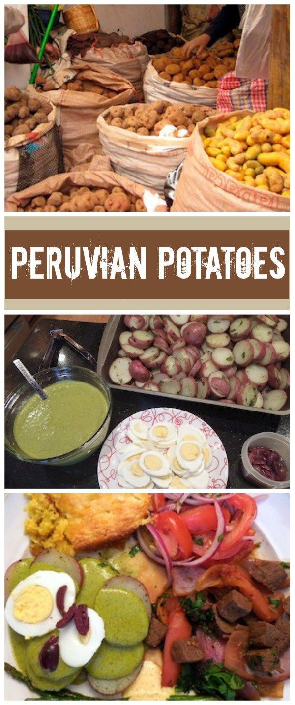 Peruvian Potatoes Their History, A Recipe + A LinkUp