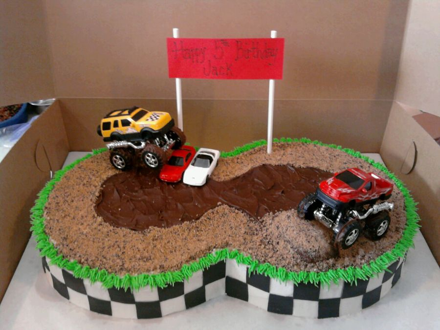 Strange Monster Truck Cakes Photoset 127 720 Of 235 289 Truck Birthday Funny Birthday Cards Online Elaedamsfinfo