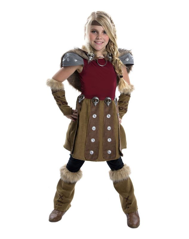 How to Train Your Dragon ASTRID Deluxe Child Costume Halloween Girl ...