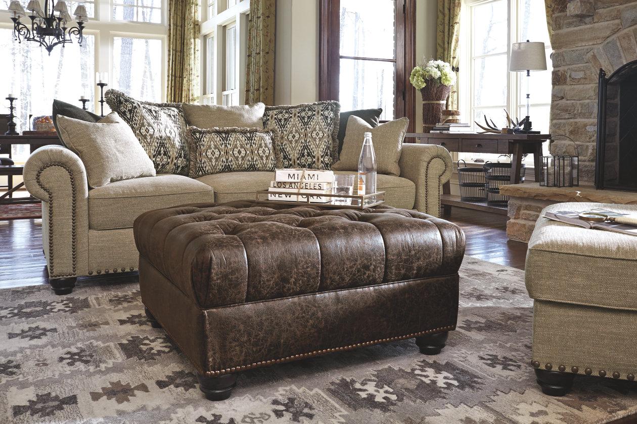 Ilena Oversized Ottoman Ashley Furniture Sofas Oversized