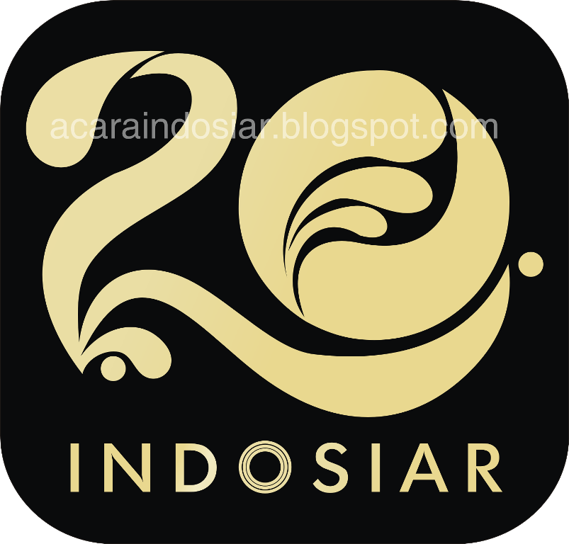 20 Years Of Indosiar Tv Indonesia Anniversary Logos