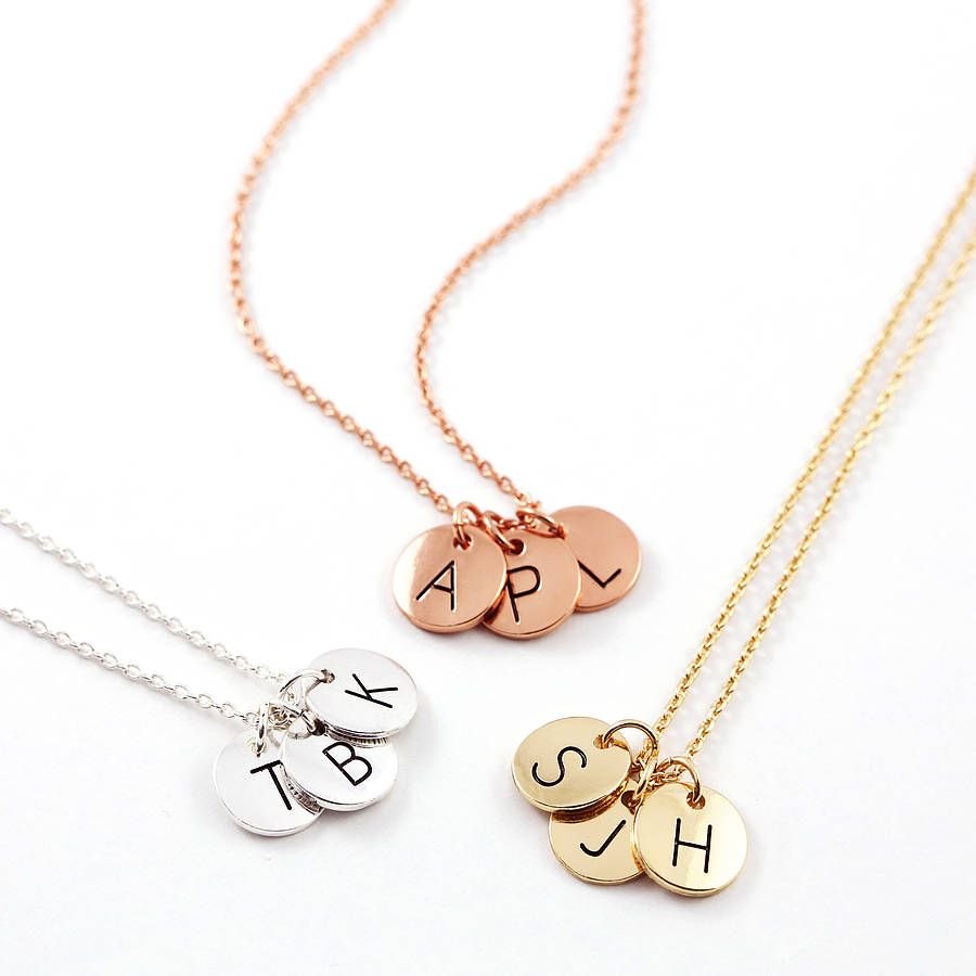 Left to right: silver, rose gold, gold