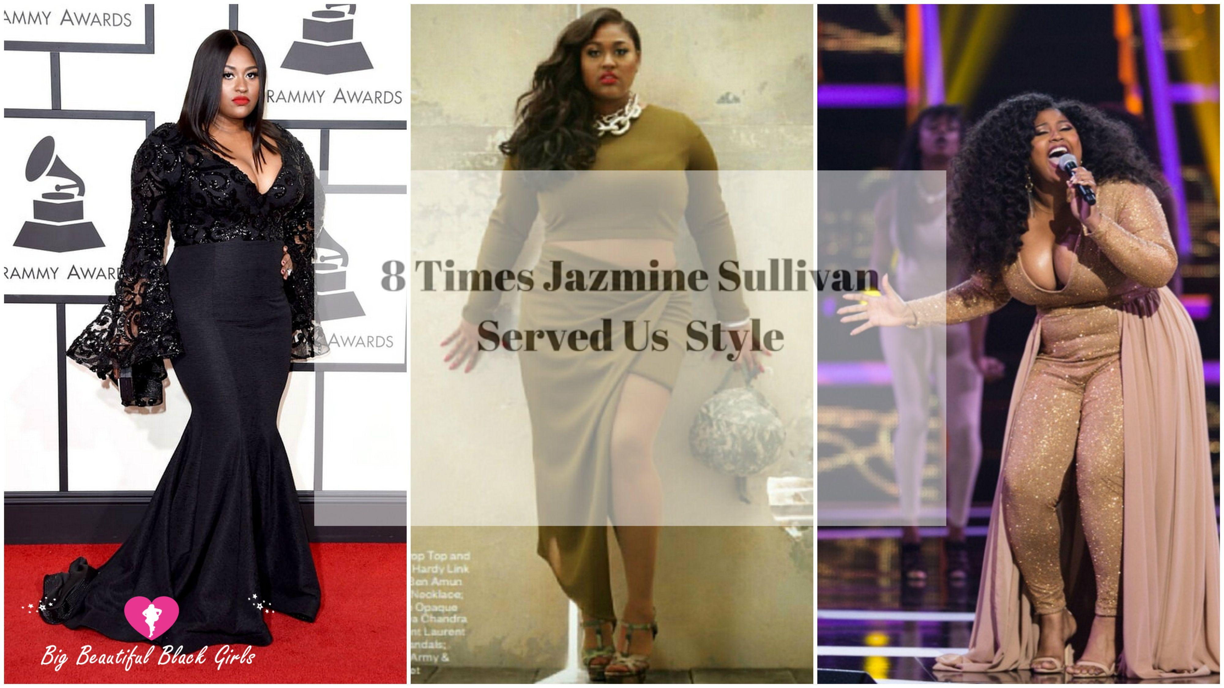 70677ebd5a25 8 Times Jazmine Sullivan Served Us Style http   www.bigbeautifulblackgirls .com
