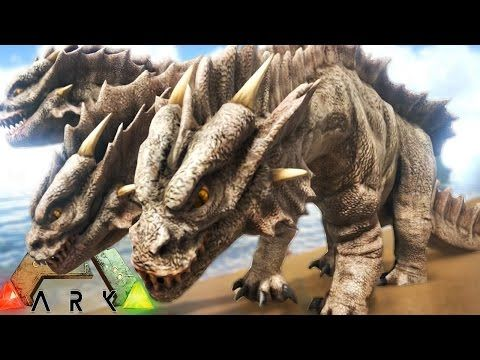 awesome Ark Survival Evolved - NEW HYDRA MONSTER ATTACKS