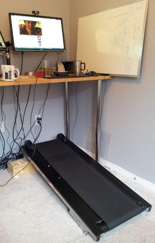 Using a manual treadmill to scroll a web page and more