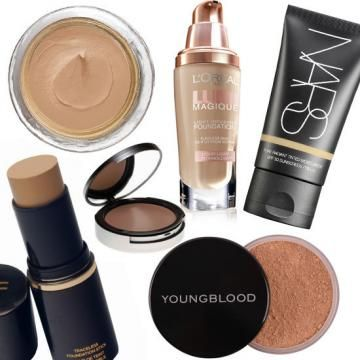 Building A Solid Foundation For Your Makeup - Which Foundation is right for you?