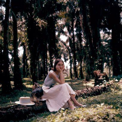 Rare Audrey Hepburn — Audrey Hepburn in the Belgian Congo, 1958....
