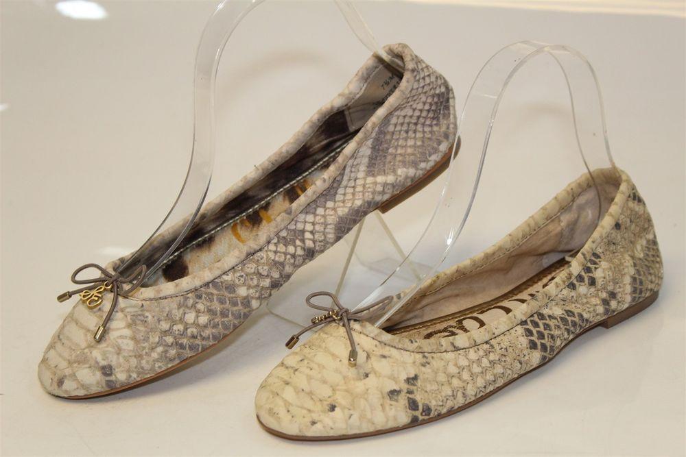 Sam Edelman MISMATCH Farbes Damenschuhe NEW 7.5 M 38 Felicia NEW Damenschuhe Ballet Flats 2ea3cd