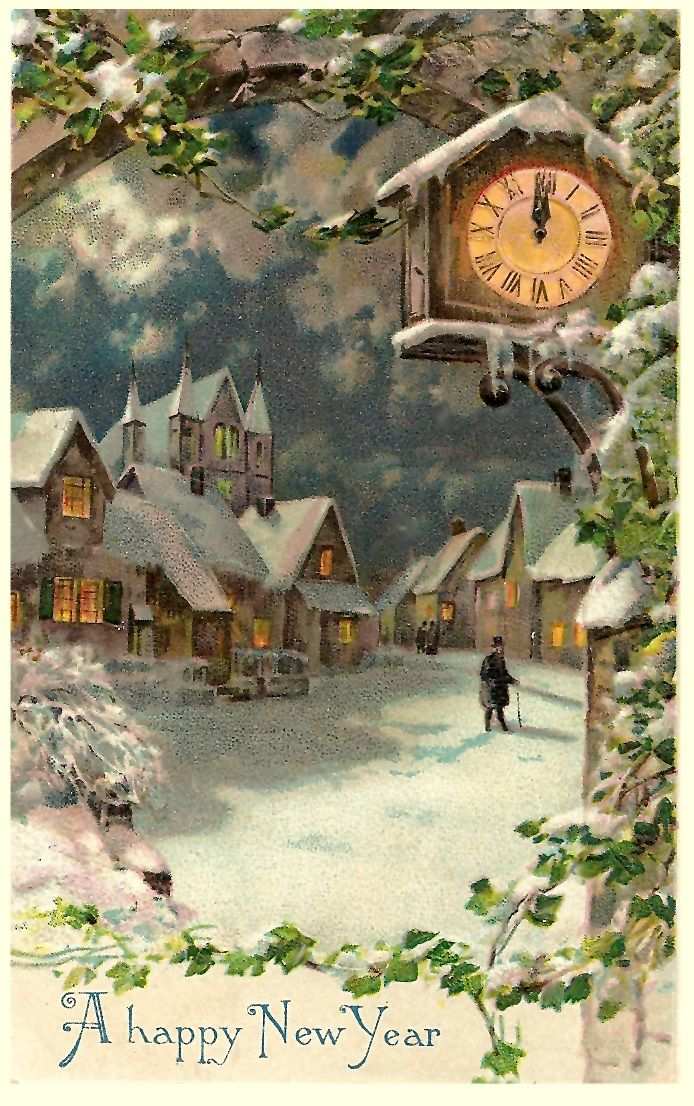 a happy new year vintage christmas cards pinterest christmas vintage christmas and vintage christmas cards