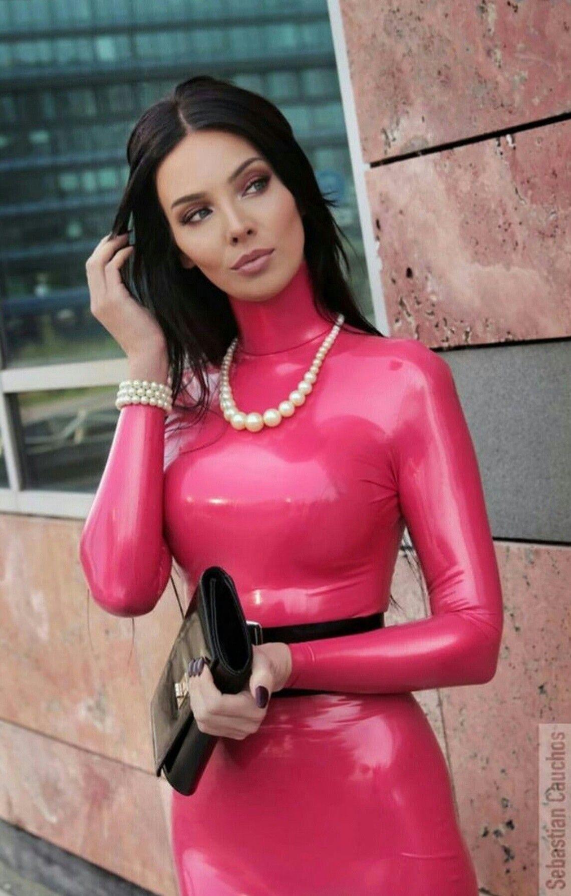 Latex dress | ΦETISH fashion LifeStyle | Pinterest