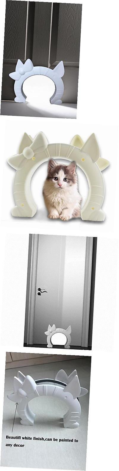 Doors And Flaps 117421: Interior Cat Door Plastic Pet Door For Large Cat Or  Small