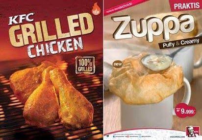 2014, Daftar Harga, Harga Menu, KFC Grilled Chicken dan ...
