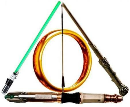 Wonderful -- Harry Potter, Star Wars, Doctor Who, Hunger Games, and Lord of the Rings ALL IN ONE.