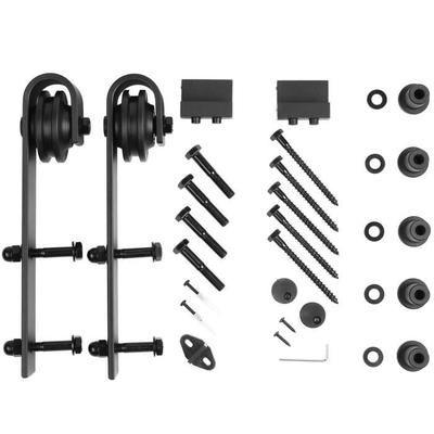 femor 200cm quincaillerie kit de rail porte coulissante. Black Bedroom Furniture Sets. Home Design Ideas