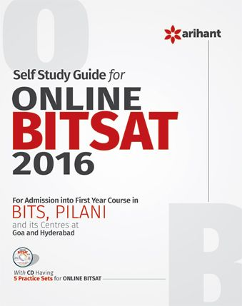 Book For Self Study Guide for Online BITSAT 2016 By Arihant Publications @ #Mybookistaan.com http://mybookistaan.com/books/entrance-exams-books