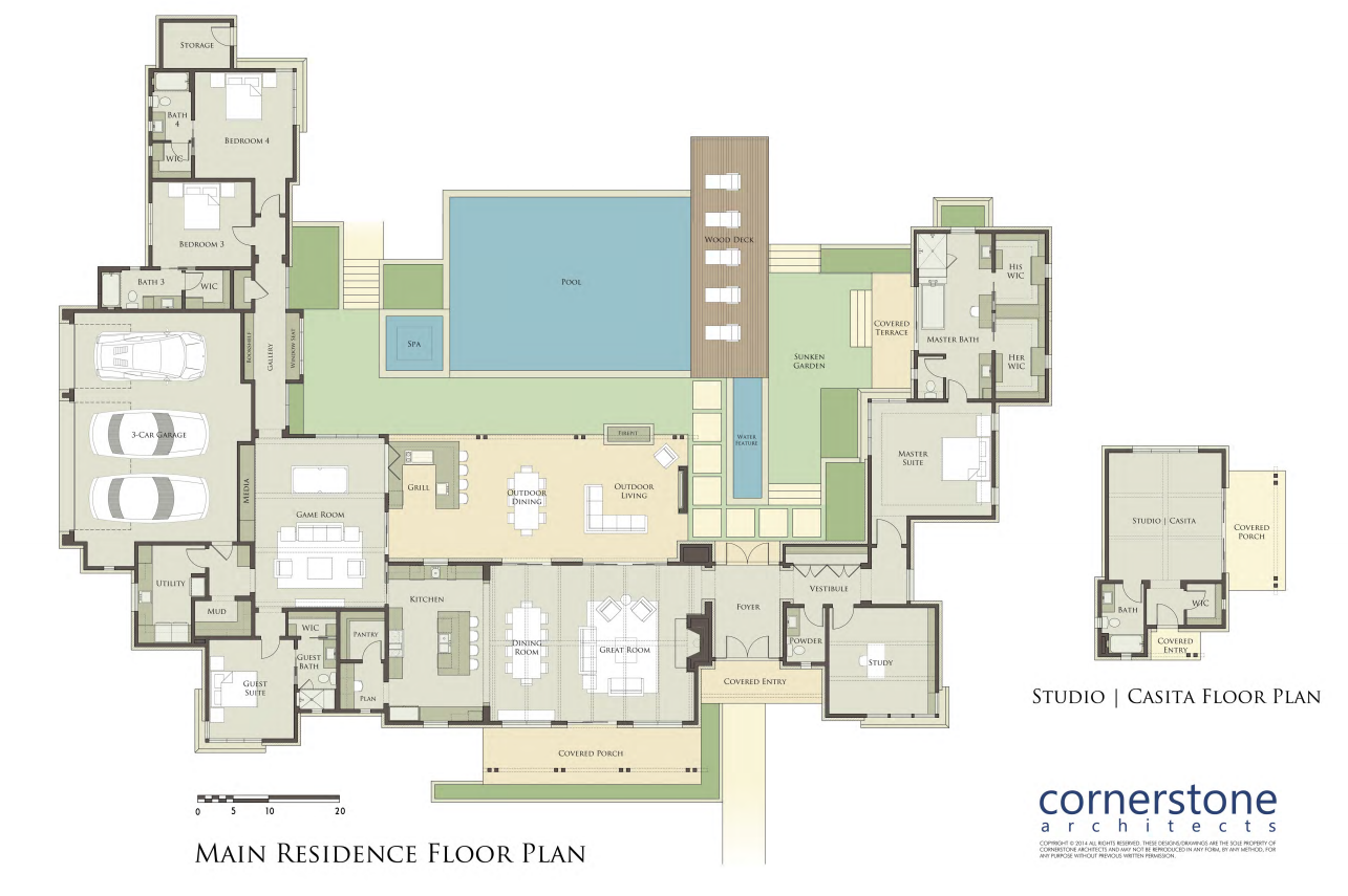 Robert Stephan Builder and Cornerstone Architects had a nice – Cornerstone Homes Floor Plans