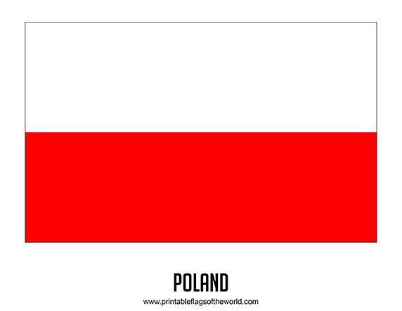 Free Printable Poland Flag Download PDF  Printable Country Flags